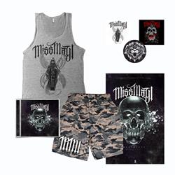 Deathless CD + Tank Top + Mesh Shorts + Poster + Sticker Pack + Digital Download