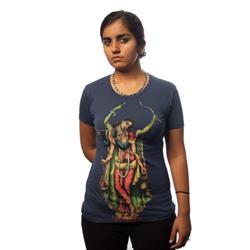 Sadbhuj Navy Girl Shirt