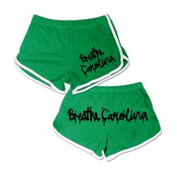 Logo Booty Shorts Green