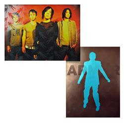 Band/Blue Man Double Sided