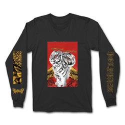 Black Tiger Long Sleeve Black