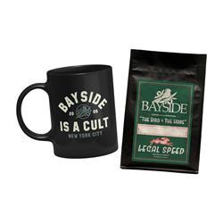 Bayside Is A Cult Mug + Coffee