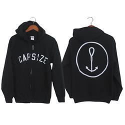 Noose Anchor Black Zip-Up