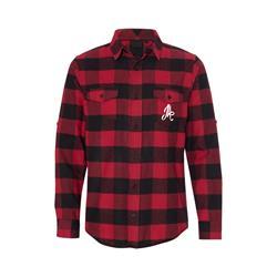 Logo Red/Black Flannel