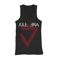 Jule Vera Logo Black Tank Top