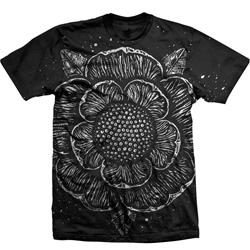 Iconic Flower All-Over-Print Black