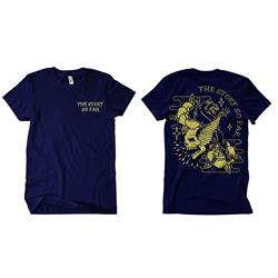 Skull Panther Navy T-Shirt
