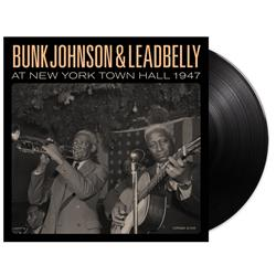 Bunk & Leadbelly At New York Town Hall 1947 Black  2Xlp