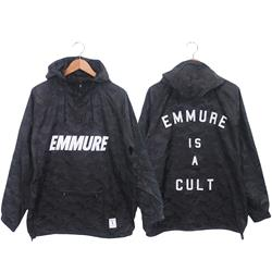 Cult Black Camo Pullover Windbreaker
