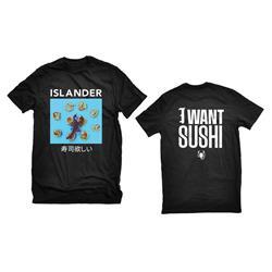 I Want Sushi Black