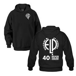 40 Years... Black Hooded