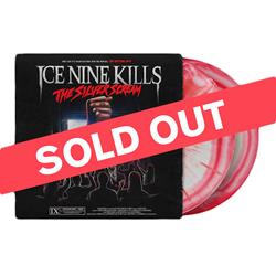 The Silver Scream Transparent Red/Silver with Opaque Red Splatter