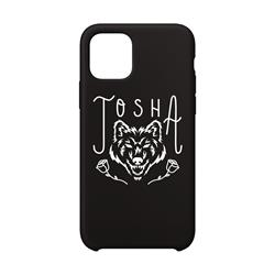 Wolf Rose Black Iphone 11 Case