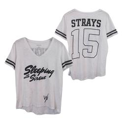 *Limited Stock* Strays 15 White V-Neck