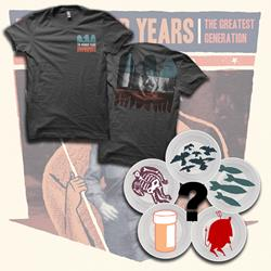 The Wonder Years T-Shirt+7inch