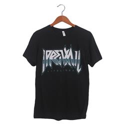 Metal Logo Black Slub