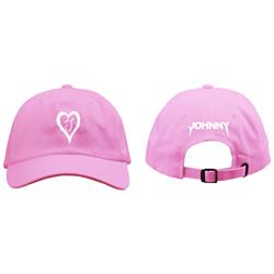 Heart Pink Dad Hat
