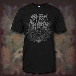 Fit For An Autopsy - Skulls Black T-Shirt