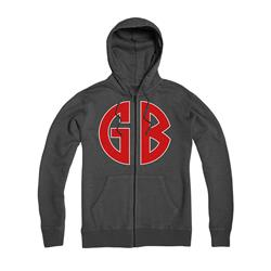 GB On Gray Girls Zip