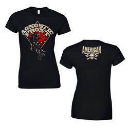 Panther Snake Black Girl Shirt