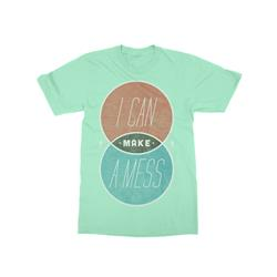 Venn Diagram Mint T-Shirt