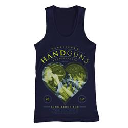 Heart Navy Tank Top