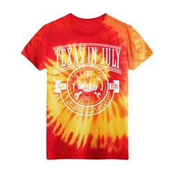 Draw The Line Red/Orange Tie Dye *SALE*