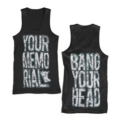 Bang Your Head Black $6 Sale *Small Only*