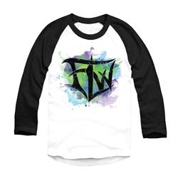 Watercolor Logo Black/White