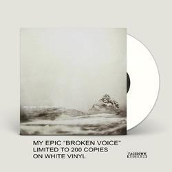 Broken Voice White LP + Digital Download