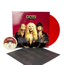 Lucifer II CD/Transparent Red