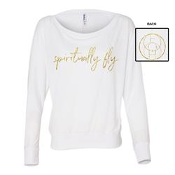 Spiritually Fly Ladies White Flowy