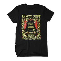 Krazyfest Shirts For A Cure Black