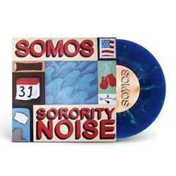 Split (Sorority Noise) Transparent Blue With Green Splatter 7Inch