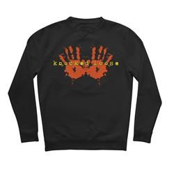 Hands Black Crewneck Small