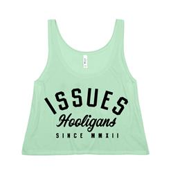 Hooligans Mint Crop Top