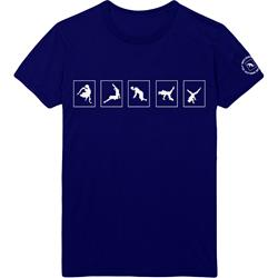 MSI LIMITED: Blue Safety Dance Tee