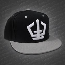 Symbol Black/Grey Snapback