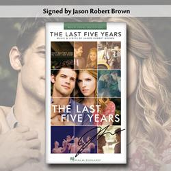 The Last Five Years Signed Sheet Music Book