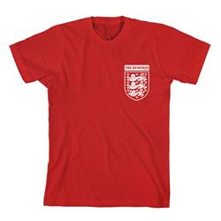 Three Lions Red T-Shirt