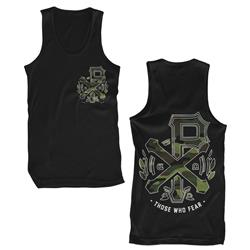 Camo Logo Black Tank Top *Final Print*