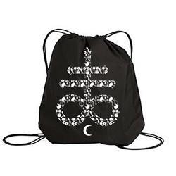 Cross Black Cinch Bag