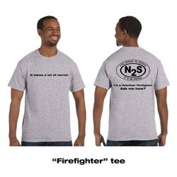 Firefighter Heather Grey