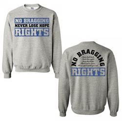 Never Lose Hope Heather Grey Crewneck Sweatshirt