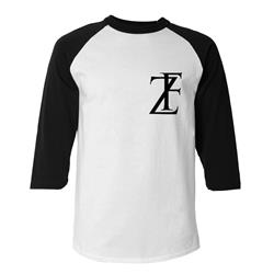 FZ Black/White Baseball T-Shirt