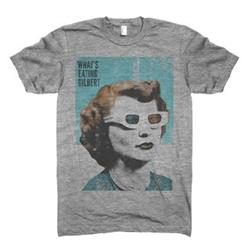 What's Eating Gilbert 3-D Glasses Heather Grey T-Shirt