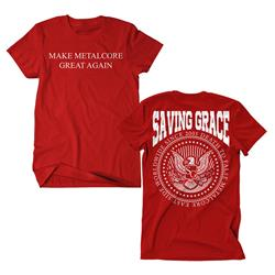 Make Metalcore Great Again Red