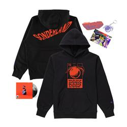 Welcome To Sonderland Hoodie CD Bundle