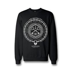 Chained Black Crewneck