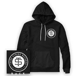 Third String Records - Logo Black
